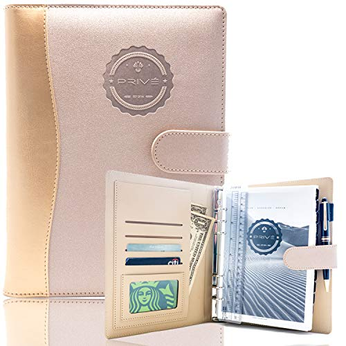 Privé Planner: Daily Planner, Calendar, Journal, and Organizer | A5 Hardcopy | Non-Dated (Rose Gold)