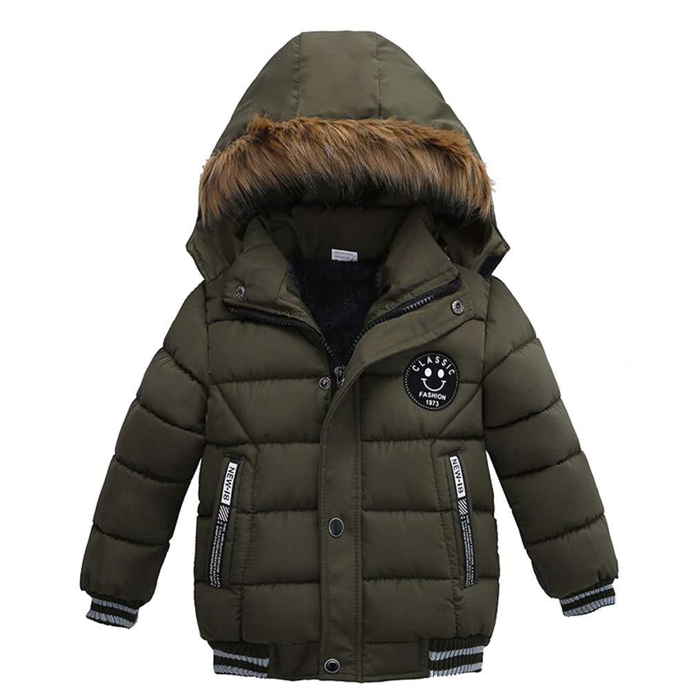 Bambini Piumino Felpa con cappuccio cappotti inverno Cappotto Parka Maniche Lunghe Caldo Antivento Giacche Abbigliamento /3-8 Anni JIANGXI HONGJIUCHANG JIANZHUANZHUANGGONGCHENG YOUXIANGONGSI