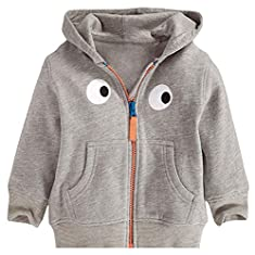 Fiream Child Cotton Animal Zip Front Jacket Hoodie Sweatshirt