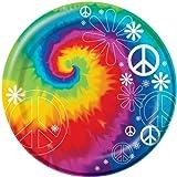 Creative Converting-Tie Dye Fun 8 3/4