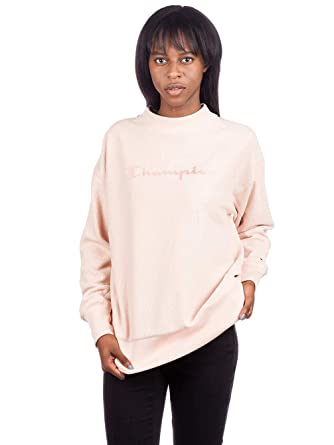 pull champion court femme rose clair