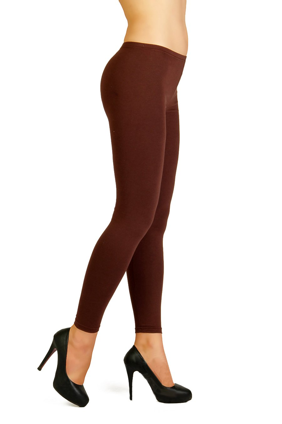 FUTURO FASHION Winter Style Full Length Very Warm Thick Heavy Cotton Leggings (Fleece Inside) Sizes 8-26 P28 PT-P28