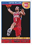 Michael Carter-Williams 2013-14 NBA Hoops Basketball Rookie Card #271 - Syracuse - Philadelphia 76ers - Stored in a Protective Case!!