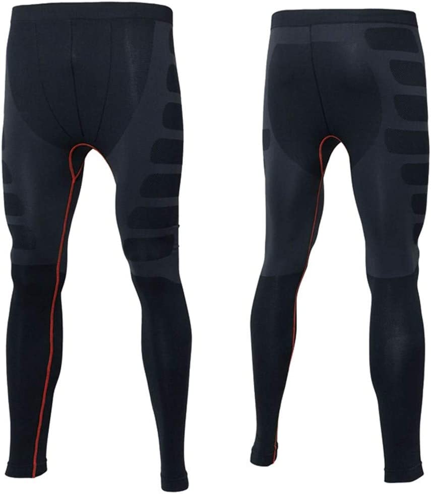 Jinqiuyuan Winter Thermal Underwear Sets Men Long John Quick Dry Stretch Mens Thermo Underwear Male Warm Long Johns Color : As Shown, Size : M