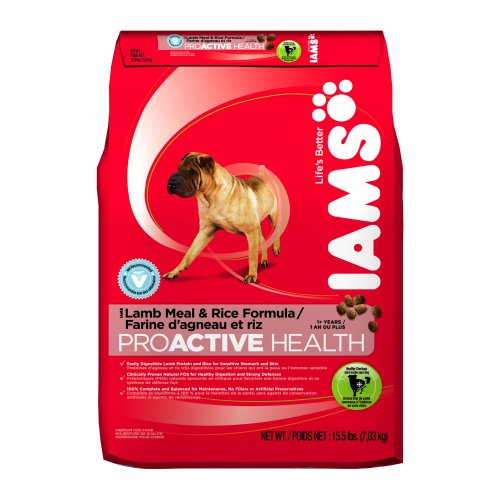 Care Iams Dental - Iams Proactive Health Adult Lamb Meal And Rice, 15.5-Pound Bags