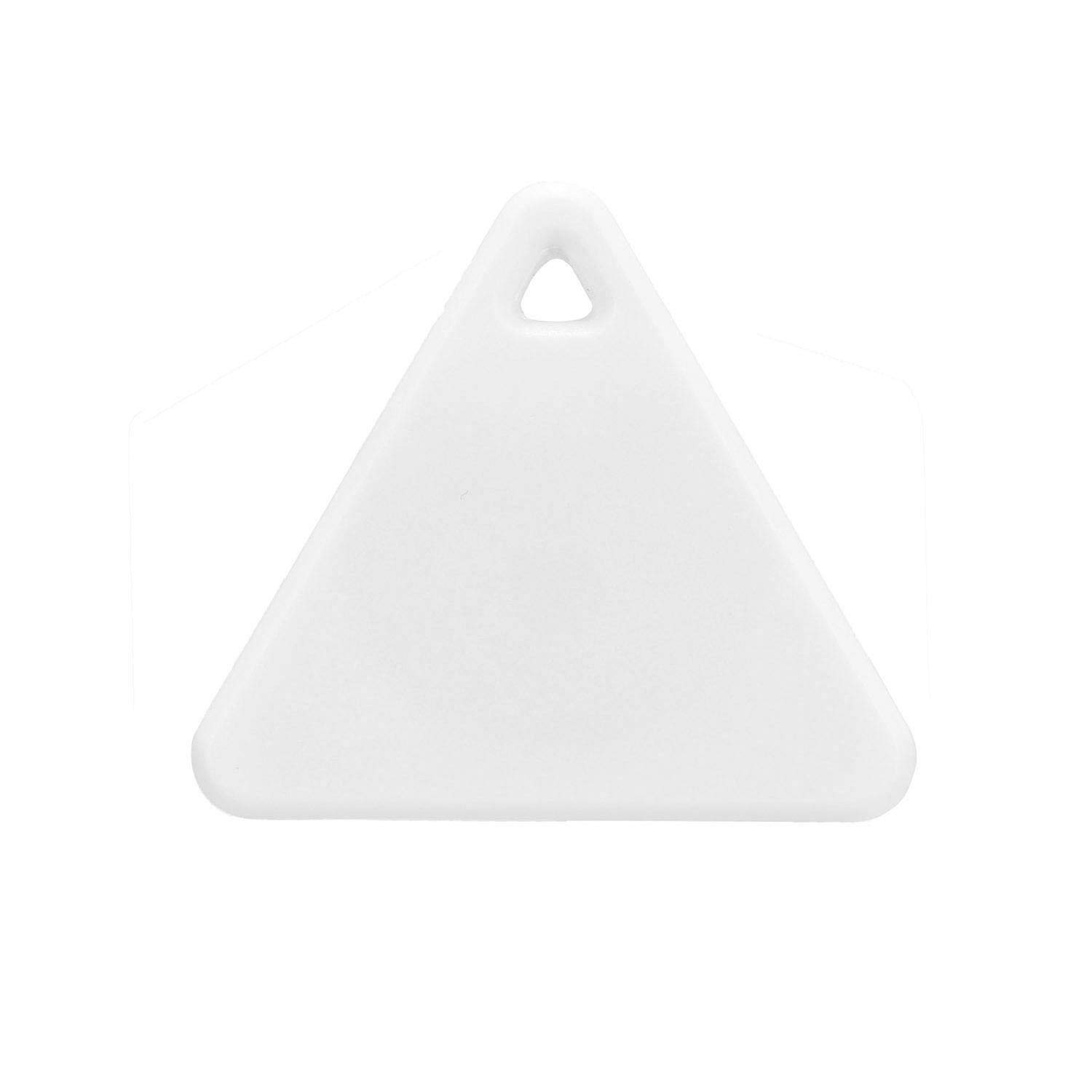 ONERIOME Ultra-Thin Triangle GPS Tracker Smart Mini Bluetooth Tag Tracker Key Wallet Pet Child Finder GPS Locator Alarm Baby Wearables for iOS Android Smartphone