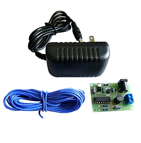 Electronic Water Descaler Decalcifier Conditioner DIY Assembled Kit for Copper PVC Pipe with 12V 2A ADAPTOR by CPTDCL