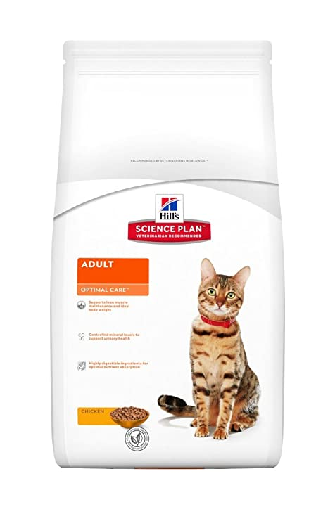 Hills - Pienso para Gatos Adultos Science Plan Optimal Care ...