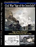 Navy Civil War History Ironclads Monitor Merrimac old films CSS Virginia DVD