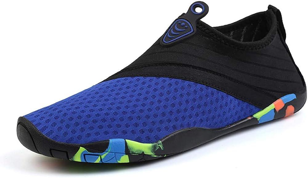 Chaussures deau pour Femmes et Hommes Chaussures de Sport Outdoor /& Indoor Gym Fitness Randonn/ée Escalade Marche Barefoot Shoes Chaussures Aquatiques