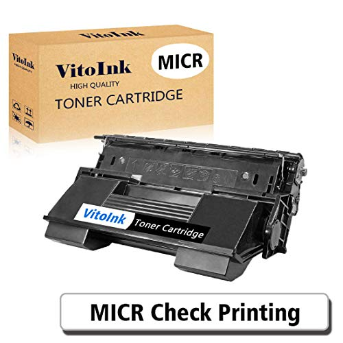 VitoInk Compatible MICR Toner Cartridge Replacements for Xerox Phaser 4510DT,57k Yields(1 Pack,Black)