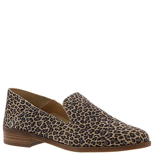 Lucky Brand Women's Cahill Loafer Flat Sesame-leopard