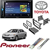 Cheap Pioneer Multimedia DVD Receiver with 6.2″ WVGA Display and Toyota Corolla 2009 2013 CAR Stereo Radio Dash Installation MOUNTING KIT