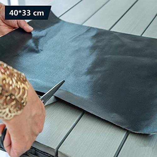 Zairmb Lot de 4 Extra Large Tapis de Barbecue Réutilisable Tapis de Cuisson et de Cuisson avec Téflon Revêtement antiadhésif Tapis de barbecue-33 * 40 cm