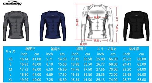 COOLOMG アンダーシャツ タンクトップ メンズ ノースリーブ 野球 スポッツシャツ ジムウェア 吸汗速乾 冷感 通気性