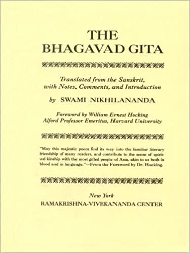 Bhagavad Gita- The Spiritual Song