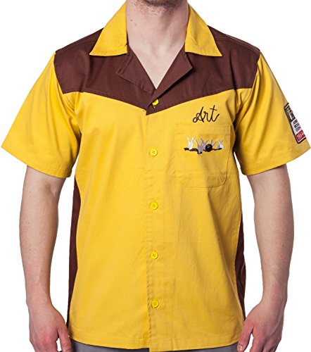 Ripple Junction Authentic Replica Big Lebowski Bowling Shirt -
