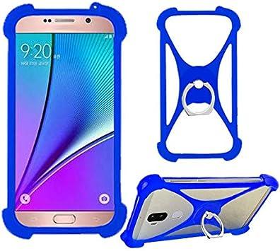 Amazon Com Lankashi Blue Phone Silicone Cover Case For Assurance