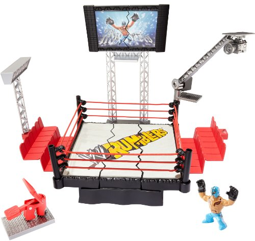 WWE Rumblers Rampage Devastadium Playset by WWE