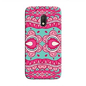 Cover It Up - Indian P&T Design Moto G4 PlayHard Case