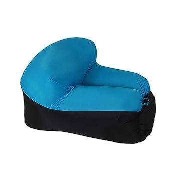 LENTIA Sofá Hinchable de 105 x 75 x 40 cm, sofá Impermeable ...