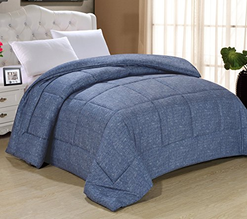 Swift Home All-Season Extra Soft Luxurious Classic Light-Warmth Goose Down-Alternative Comforter, King 104