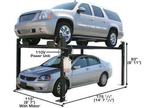 Buy portable single post lift
