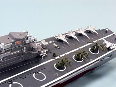 "Challenger RC Aircraft Carrier Model 30"" - RC Battleship - Model Ship Wood Replica - Not a Model Kit"