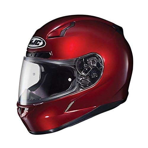 (HJC CL-17 Full-Face Motorcycle Helmet (Wine,)