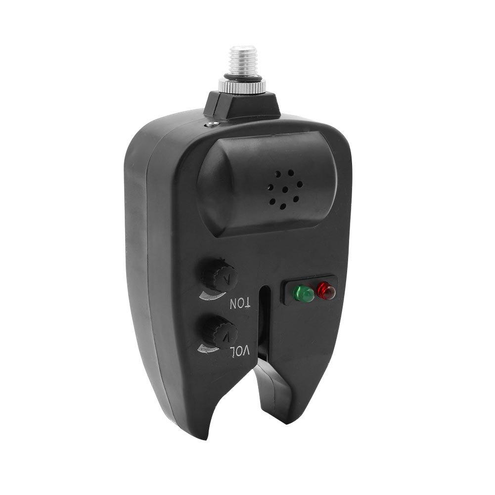 kocome 1pc LEDライト防水釣りBiteインジケータサウンドアラームオーディオVisualアラート   B01N5LPL60