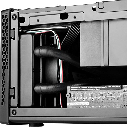 Silverstone Technology Ultra Compact Mini-ITX Computer Case with Mesh Front Panel in Black SG13B by SilverStone Technology (Image #6)