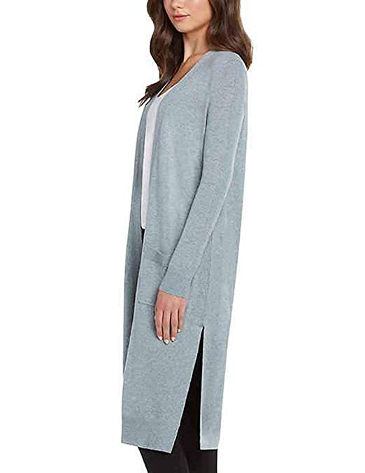 337cafd1bc Matty M Women s Duster Open Front Knit Cardigan Sweater at Amazon Women s  Clothing store