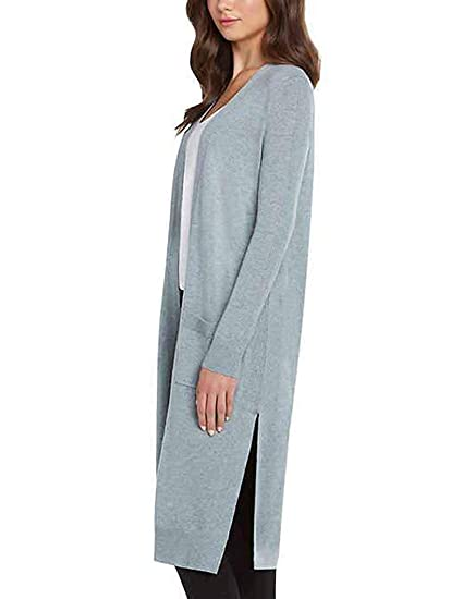 f53e6ddb045 Image Unavailable. Image not available for. Color  WOMEN S MATTY M DUSTER  OPEN FRONT KNIT CARDIGAN SWEATER (Medium
