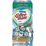 Coffee Mate Coffee Creamer, Sugar Free French Vanilla, liquid creamer singles, 50 count