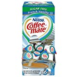 Kyпить NESTLE COFFEE-MATE Coffee Creamer, Sugar Free French Vanilla, 0.375oz liquid creamer singles, 50-count на Amazon.com