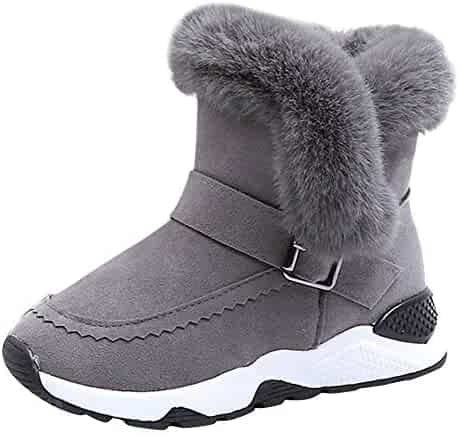 192e3cee1d7d Baby Toddler Girls Boys Fall Winter Boots Shoes 3-12 Years Old ❤ Kids