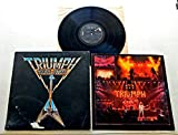 Triumph ALLIED FORCES - RCA Victor Records 1981 - USED Vinyl LP Record - 1981 Pressing AFL1-3902 - MASTERDISK RL BOB LUDWIG - Magic Power - Say Goodbye - Fight The Good Fight - Ordinary Man