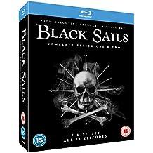 Black Sails (Complete Seasons 1 & 2) - 7-Disc Box Set ( Black Sails - Seasons One and Two (18 Episodes) )