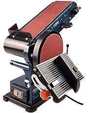 Ferm bant zımpara makinesi – 350 W – 150 mm – 2 Zımpara Bandı (P80 & P120) ve 2 Zımpara Diski (P80 & P120)