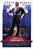 Coming to America Movie POSTER 27 x 40, Eddie Murphy, Arsenio Hall, A, MADE IN THE U.S.A.