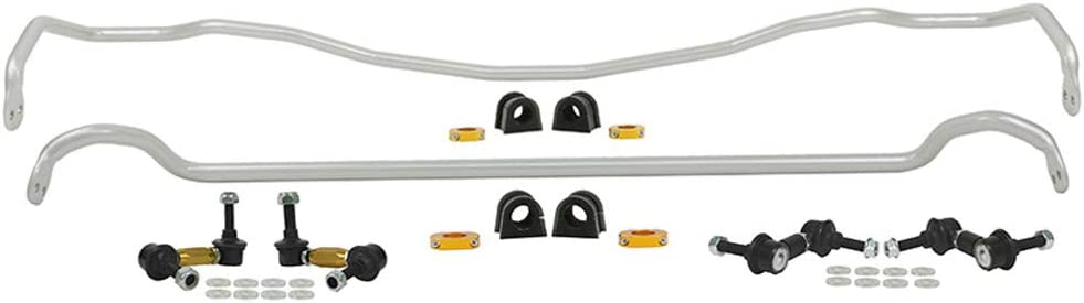 Whiteline BSK014 Black Sway Bar Vehicle Kit