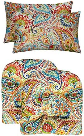 RSH D cor Indoor Outdoor Decorative Tufted U-Shape Chair Cushions Bonus Pillows Review