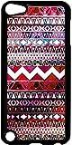 Tribal Pattern - Case for the Apple Ipod 5th Generation-Hard Black Plastic
