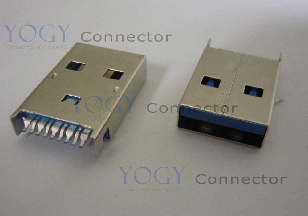 Gimax 10pcs USB3.0 Male Connector fit for Data Cable