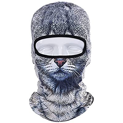 JIUSY Animal Balaclava Face Mask Breathable Outdoor Sports Motorcycle Cycling