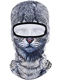 3D Animal Balaclava Face Mask Breathable Outdoor Sports Motorcycle Cycling Snowboard Hunting Ski Cat Dog