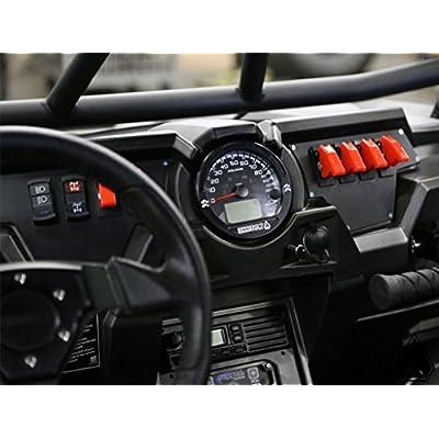 Assault Industries 201005BA0123 Dash Bezel Rd (Polaris RZR Xp1000 '13-'17/ Turbo '16/ Slingshot): Automotive