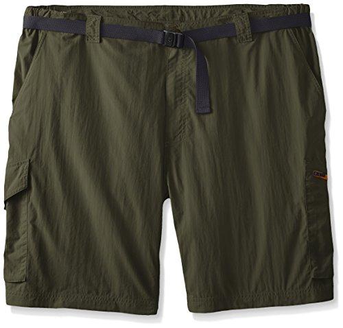 Columbia Men's Big-Tall Silver Ridge Cargo Shorts, Cypress/Valencia, 42 x 10