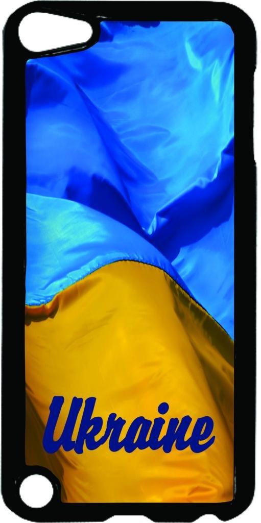 Ukraine Flag- Case for the Apple Ipod 5th Generation-Hard Black Plastic