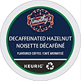 Timothy's World Coffee, Noisette, Hazelnut-Flavored Coffee, Decaffeinated, K-Cup Portion Pack for Keurig K-Cup Brewers 24-Count (Pack of 2)